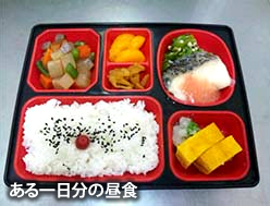 ある一日分の昼食