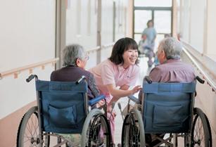 特別養護老人ホーム・館内での様子